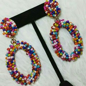 Sweet Fix Bauble Bar Beaded Statement Earrings